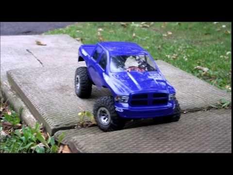 Rc Mc Purple Dodge Ram 1500 Mastering The Stairs Dodge Ram Dodge Ram 1500 Ram 1500