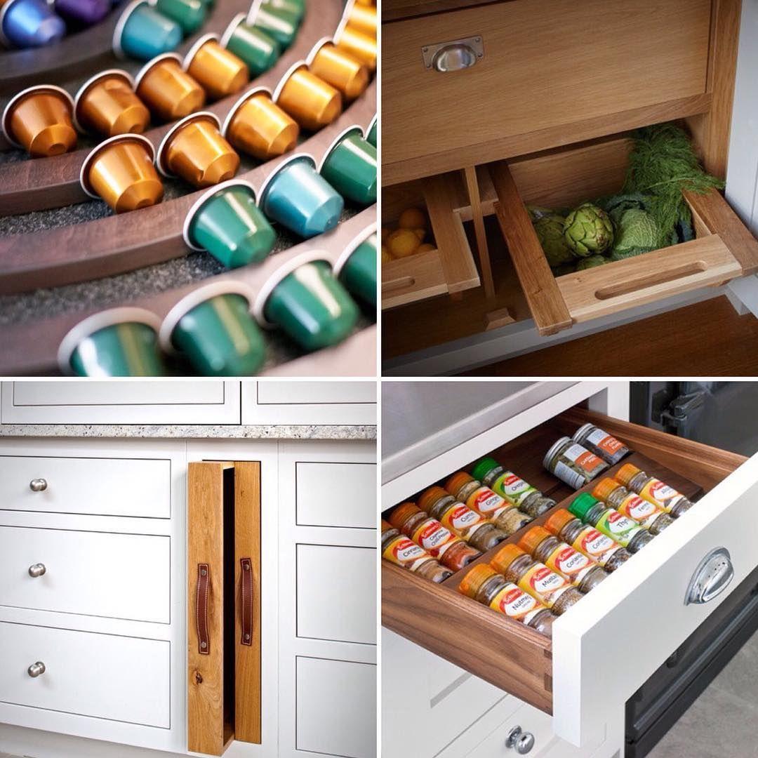 Storage Ideas For The Kitchen On Instagram: Nespresso Pod Storage, Pantry  Vegetable Store,