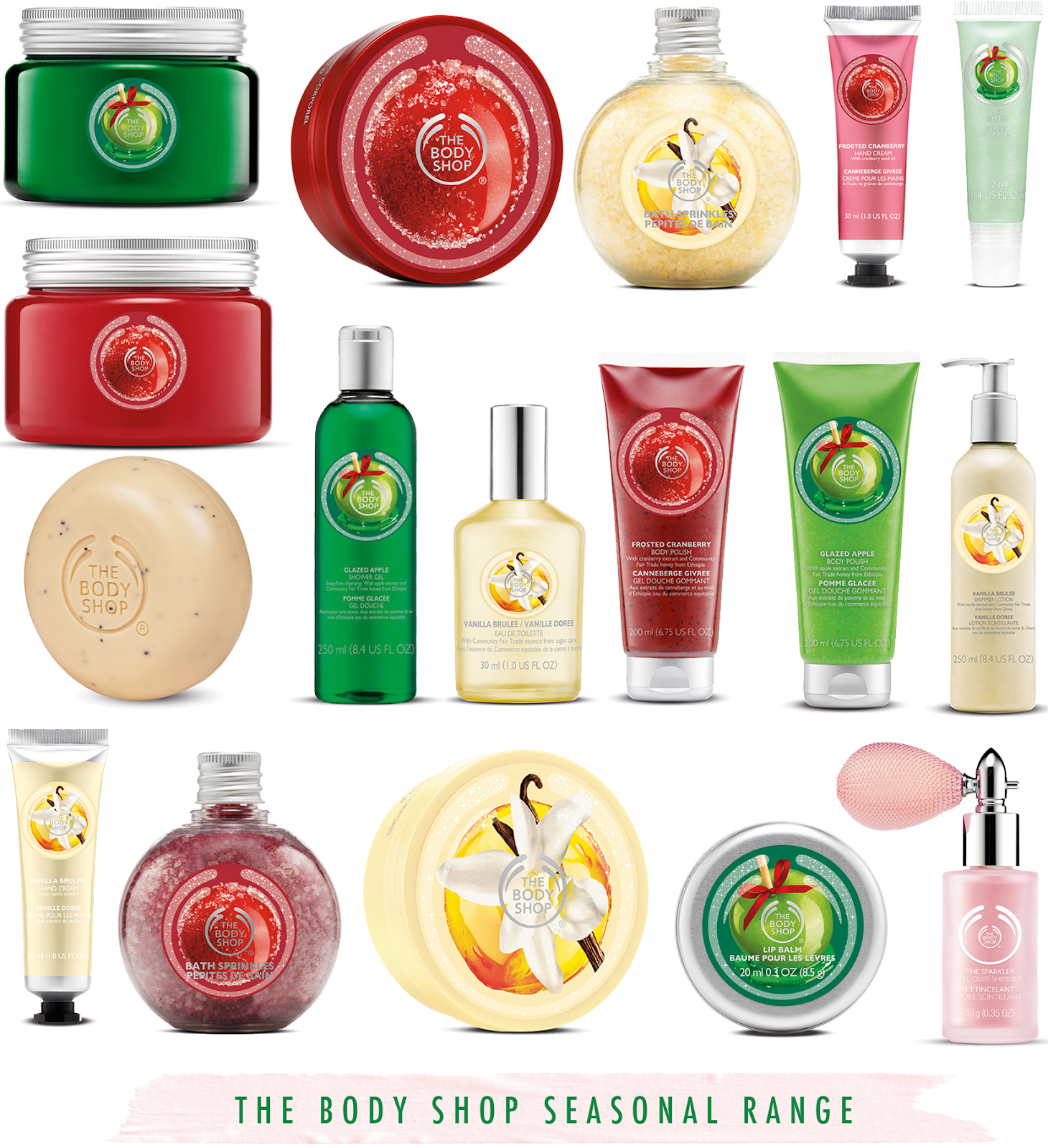 The Body Shop Christmas Range For 2014