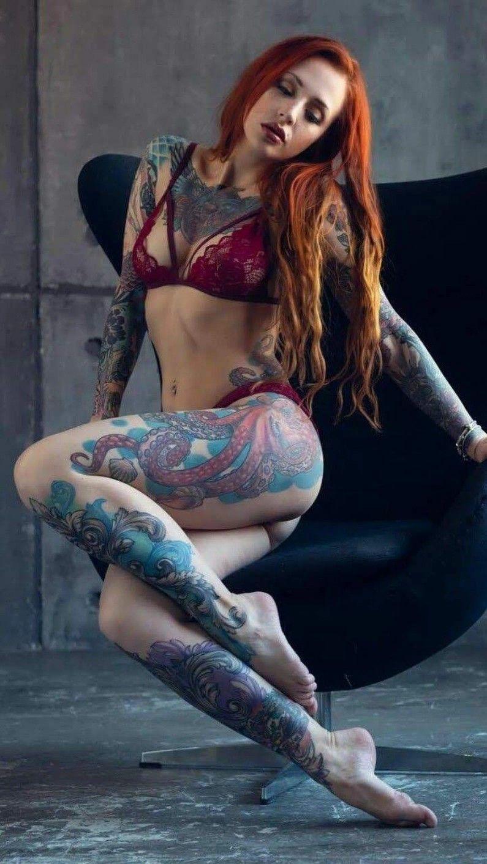 Тело девушки рыжих фото 3