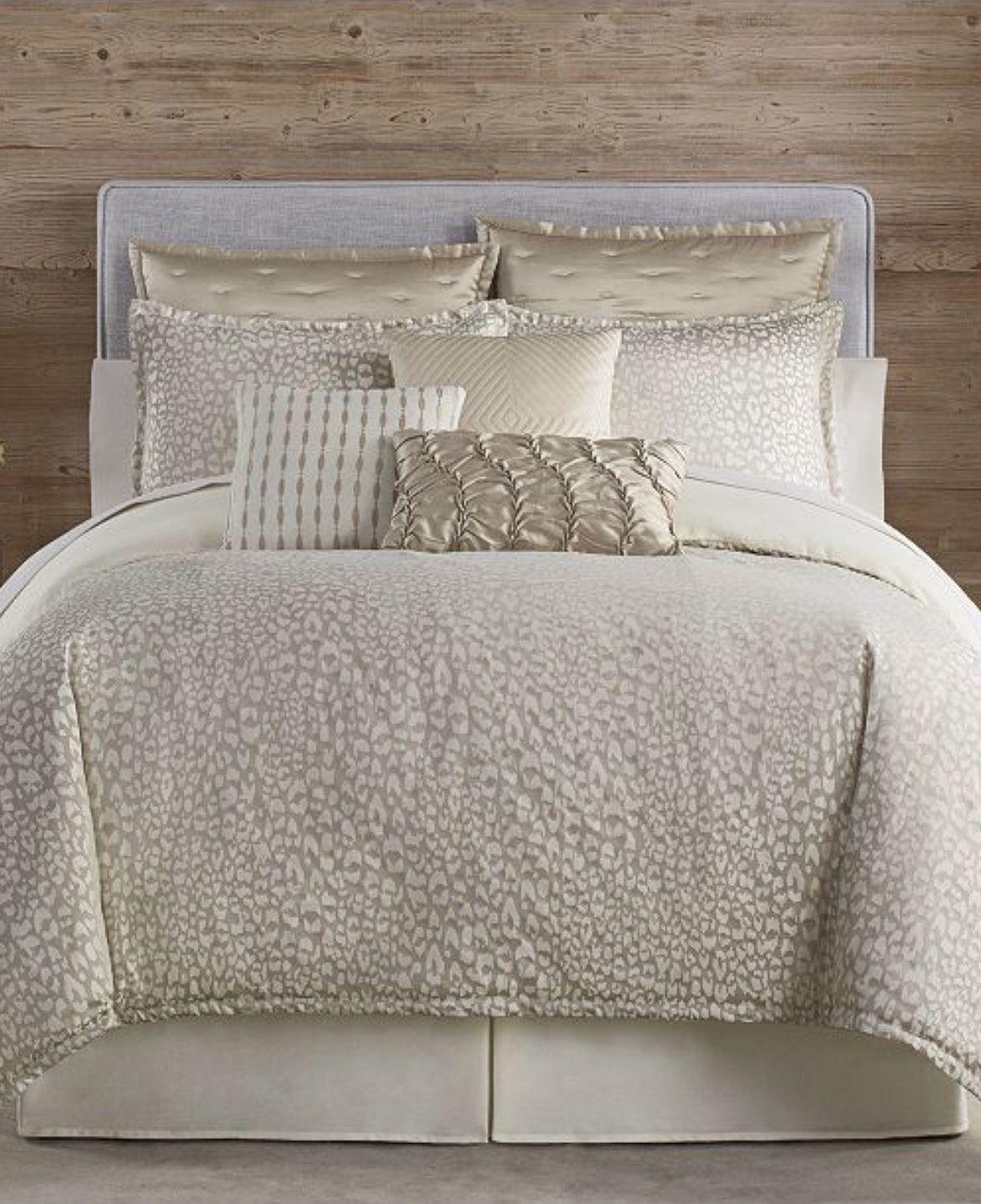 Eva Longoria Black Label Leopard Collection King Comforter Set Reviews Comforters Fashion Bed Bath Macy S Bedroom Comforter Sets Comforter Sets Leopard Bedding