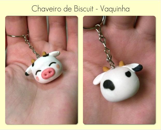 Cow Keychain by DoceSonho.deviantart.com on @DeviantArt