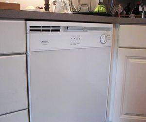 How To Fix A Dishwasher That Has Standing Water Hunker Unclog Dishwasher Dishwasher Wont Drain Clogged Dishwasher