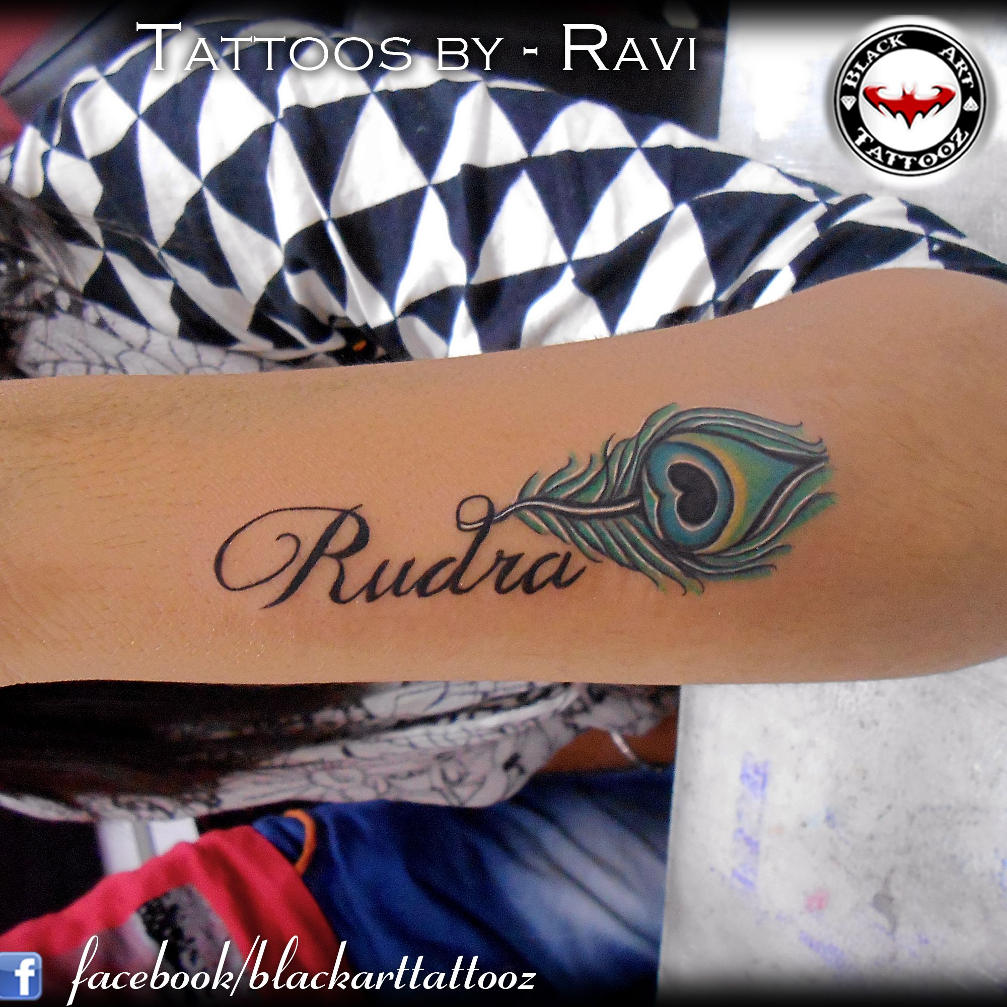 Name With Feather At Black Art Tattooz By Ravi Gohel Tattoo Tattoos Tattooedgirl Tattooing Art Artist Ink Inked Tattoos Red Tattoos Tattoo Images