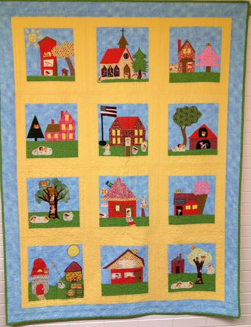 ❤ =^..^= ❤ Starwood Quilter: My House Quilt - Church Block