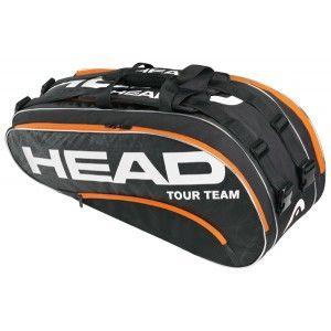 The Tour Team Combi bag holds up to 8 tennis racquets $99.95.