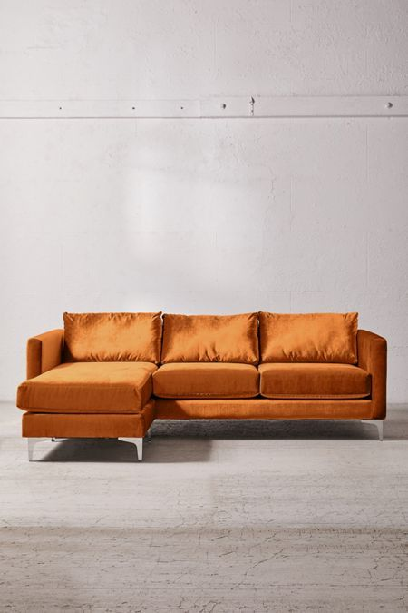 Surprising Chamberlin Velvet Sectional Sofa Home Sweet Home Alphanode Cool Chair Designs And Ideas Alphanodeonline