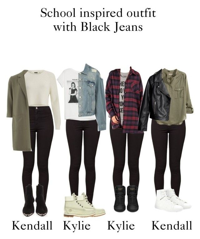 629d5e67a3c School inspired outfits with black jeans