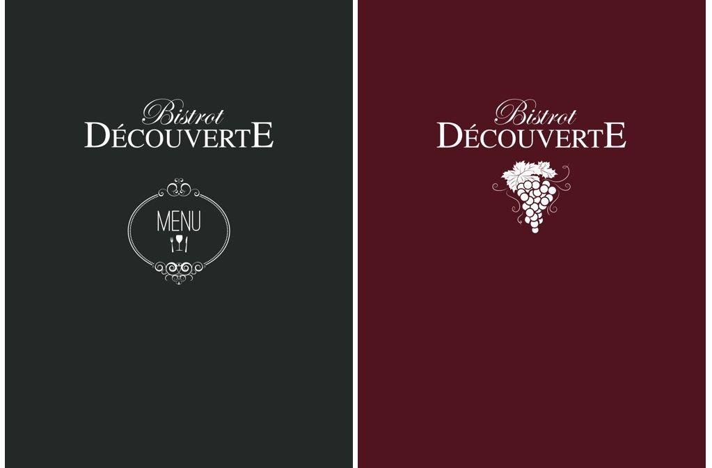 Portemenu Et Carte Des Vins Pour Le Restaurant Bistrot Découverte - Porte menu restaurant