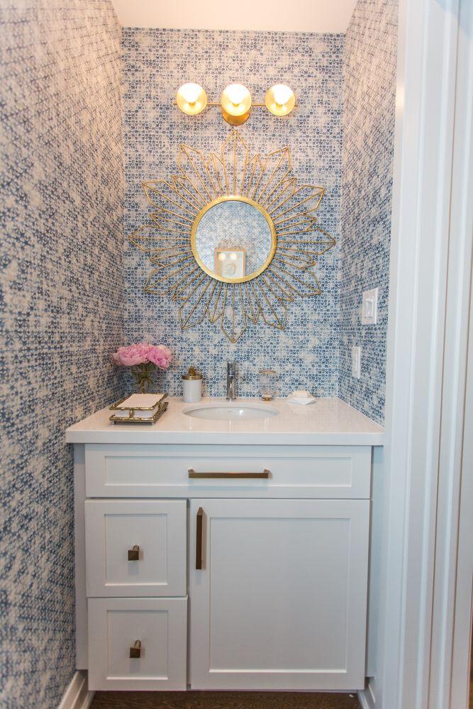 The Baeumler\u0027s Convert a Dated Home Into a Brilliant Blue Modern
