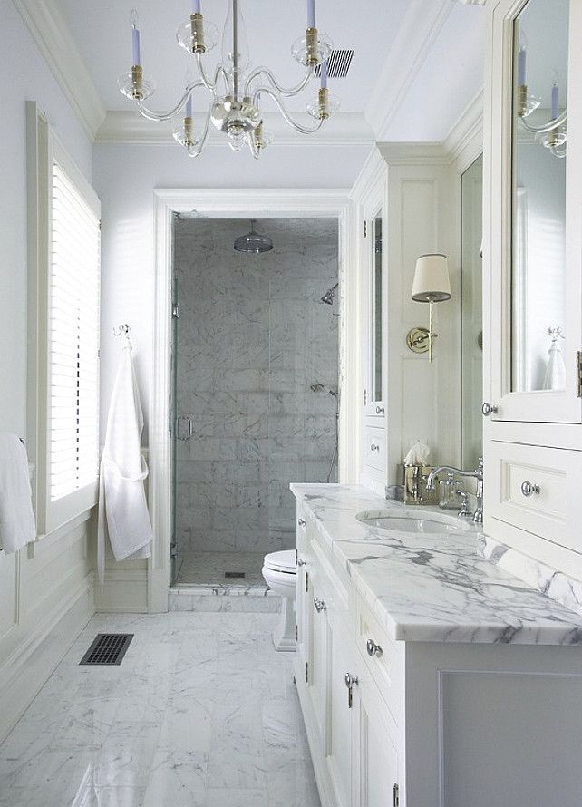 Via Mix Chic White Marble Bathrooms Bathroom Design Marble
