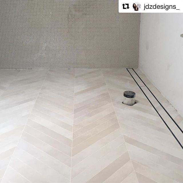 Featured On This Floor Is Our Mate Terra Chevron Porcelain We