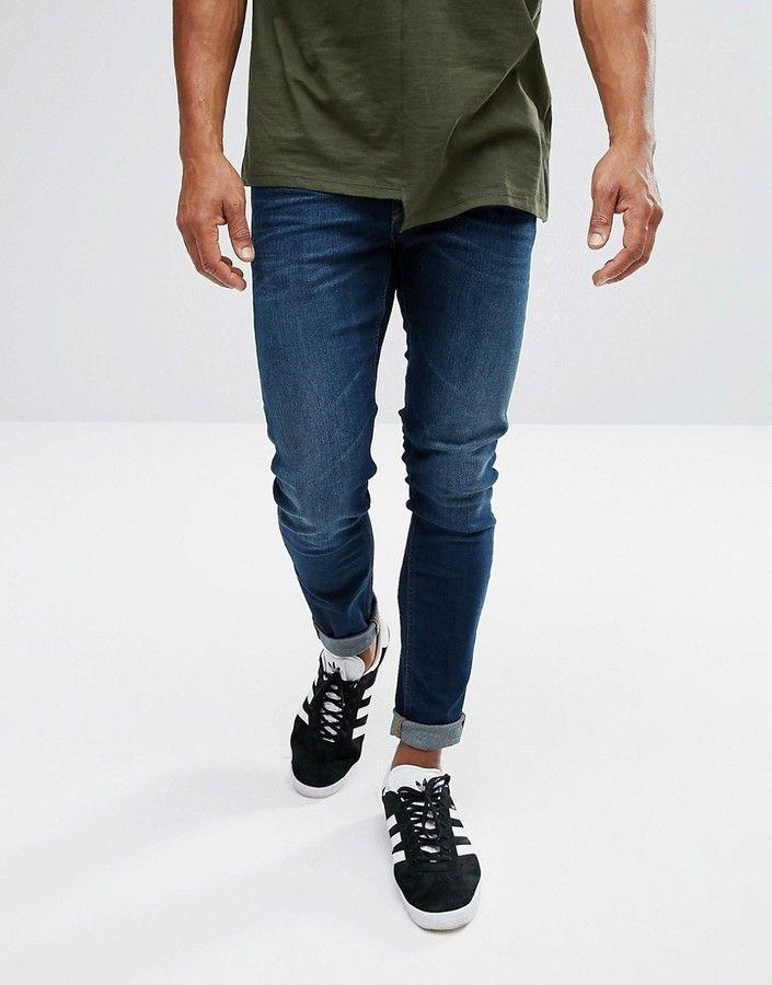 b25698a2 Lee malone super skinny dark wash | Products | Jeans, Acid wash ...
