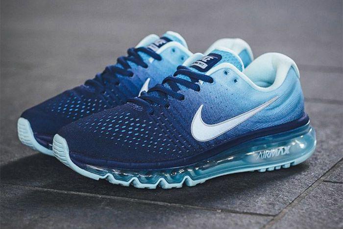 Nike Air Max 2017 (Deep Royal Blue Summit White)  3c81e80dd