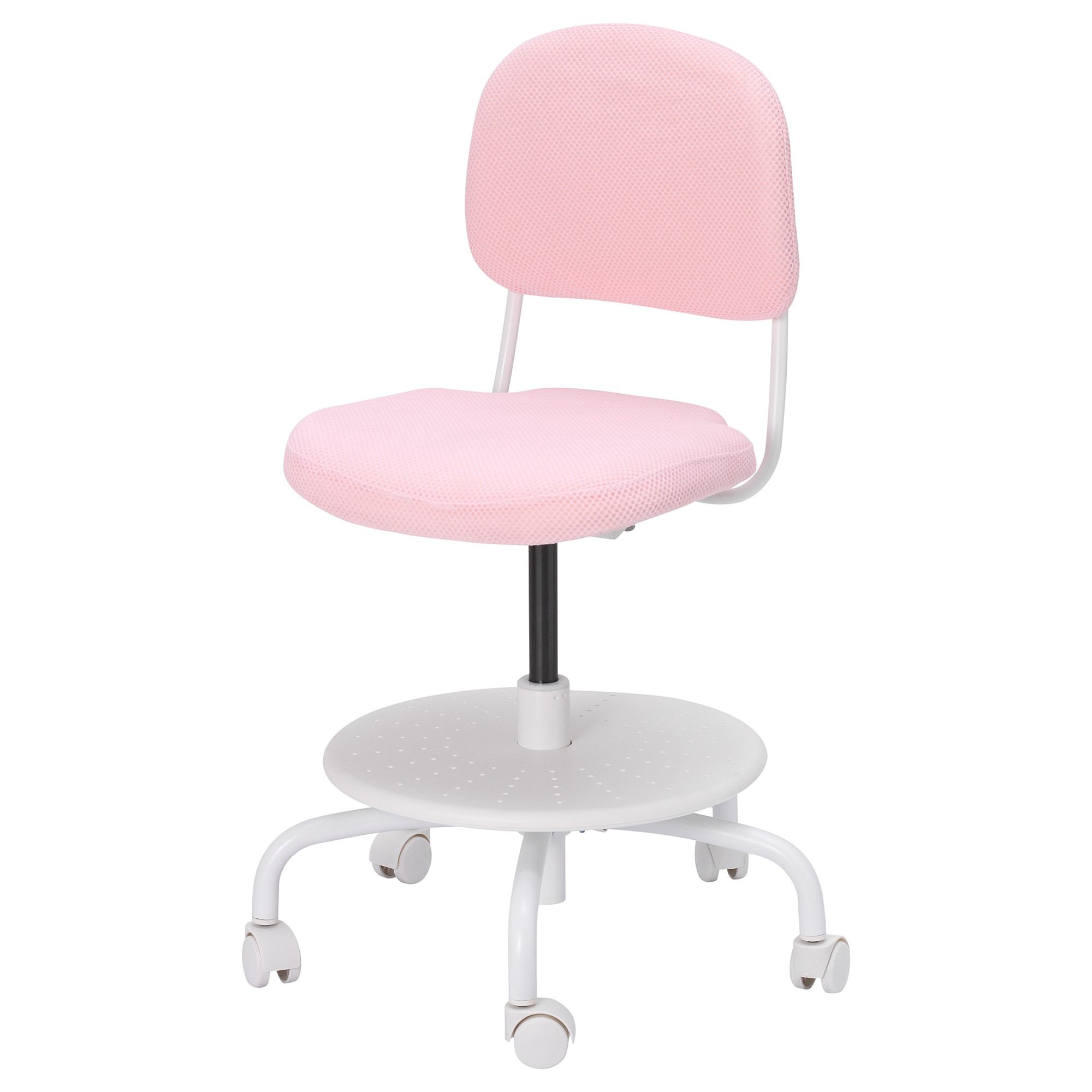 Vimund Child S Desk Chair Light Pink Ikea Desk Chair Childrens Desk And Chair Kid Desk