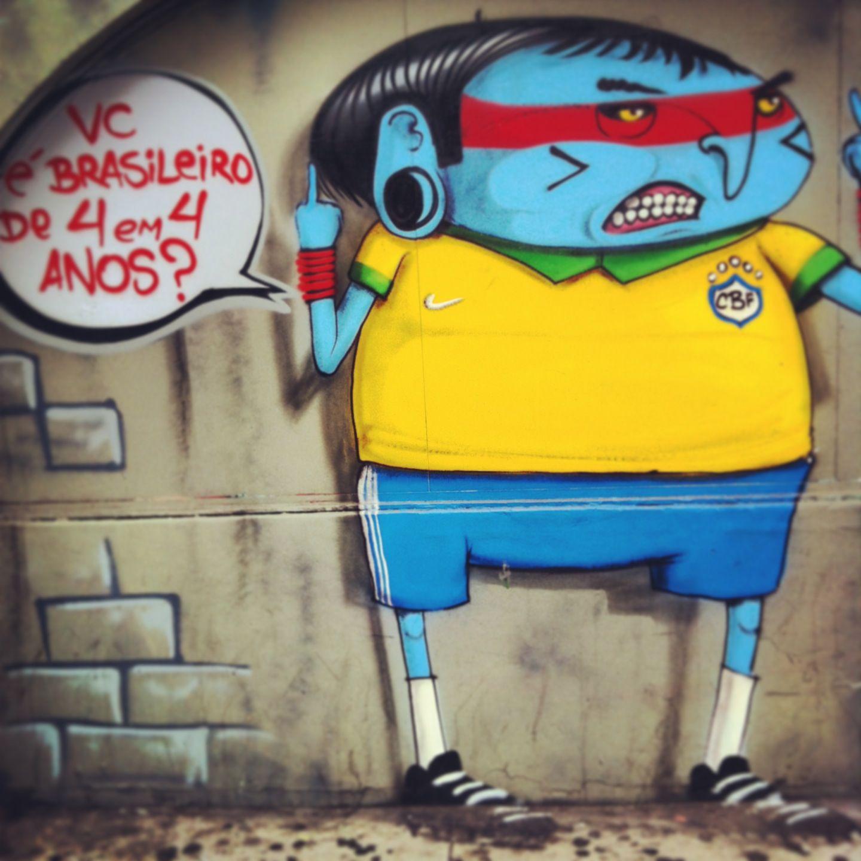 Art by cranio at Sao Paulo
