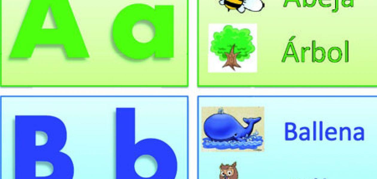 Printable Spanish Alphabet Cards  Printable Spanish