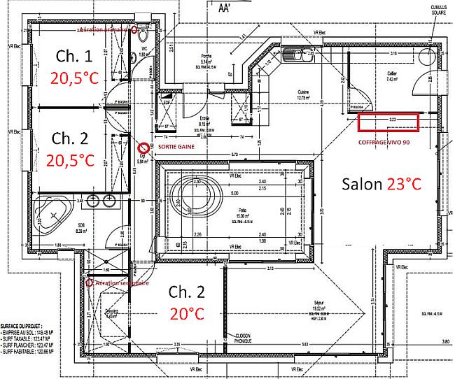 diffusion chaleur poele granule canalisable avec gaine plan de maison pour benoit pinterest. Black Bedroom Furniture Sets. Home Design Ideas
