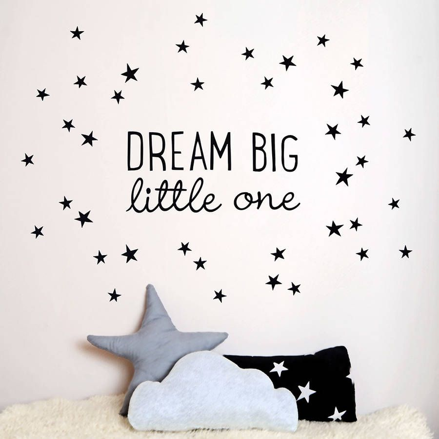 Inspire Your Little Ones To Dream Big With Our Fabric Wall Sticker.The Set  Contains Part 81