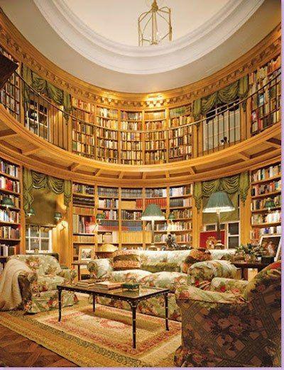 High Quality Diese Wunderschöne Privatbibliothek Wurde Vom Berühmten Französischen  Innenarchitekten Thierry W. Despont Für Ein Haus Im