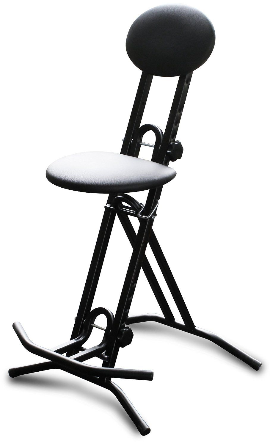 Amazon.com Road Ready RRGCH Fully Adjustable Seat Guitar Stool with Back and Foot  sc 1 st  Pinterest & Amazon.com: Road Ready RRGCH Fully Adjustable Seat Guitar Stool ... islam-shia.org