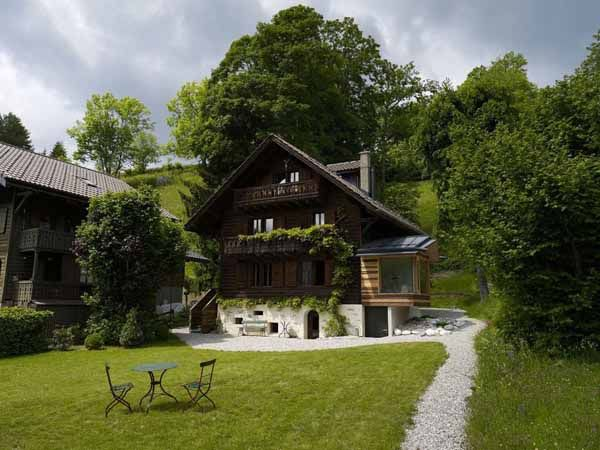 Inspiring Home Additions Old House Renovation And Interior Redesign By Lacroix Chessex Swiss Chalet Chalet Luxury Retreats