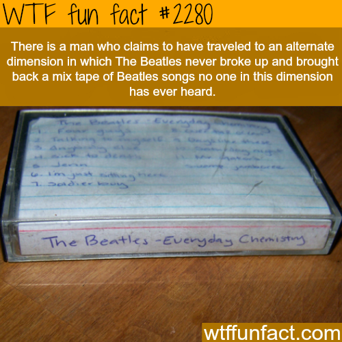 The Beatles - Everyday chemistry - WTF fun facts