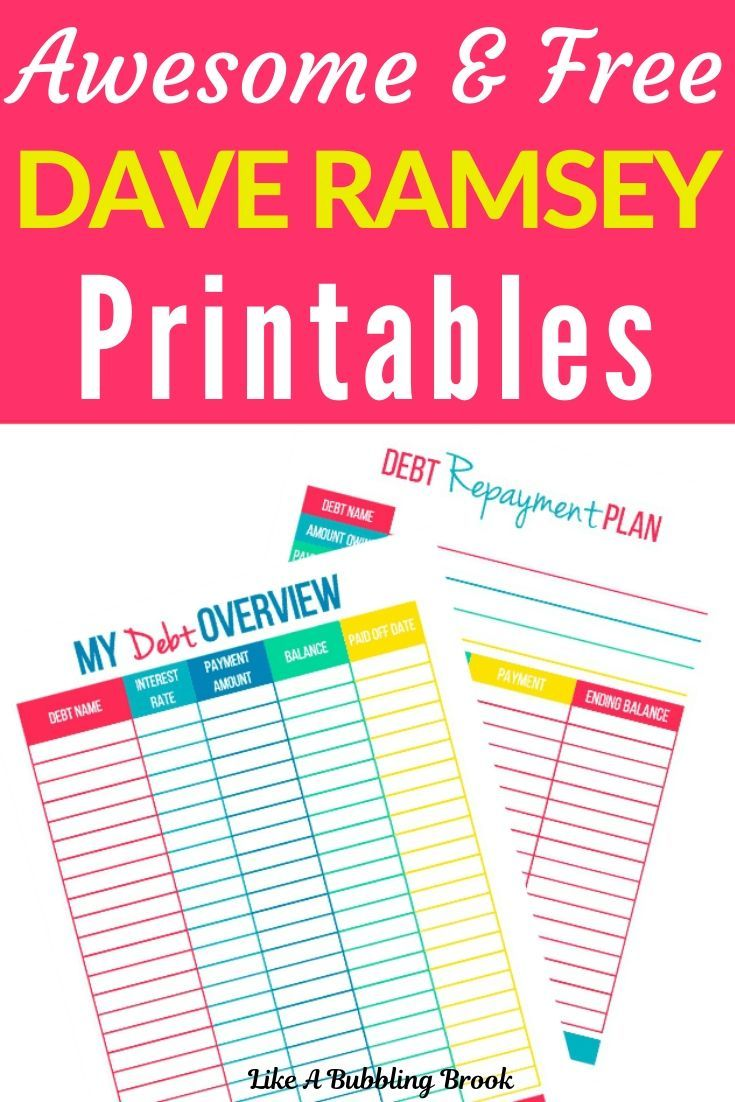 Pin on Dave Ramsey