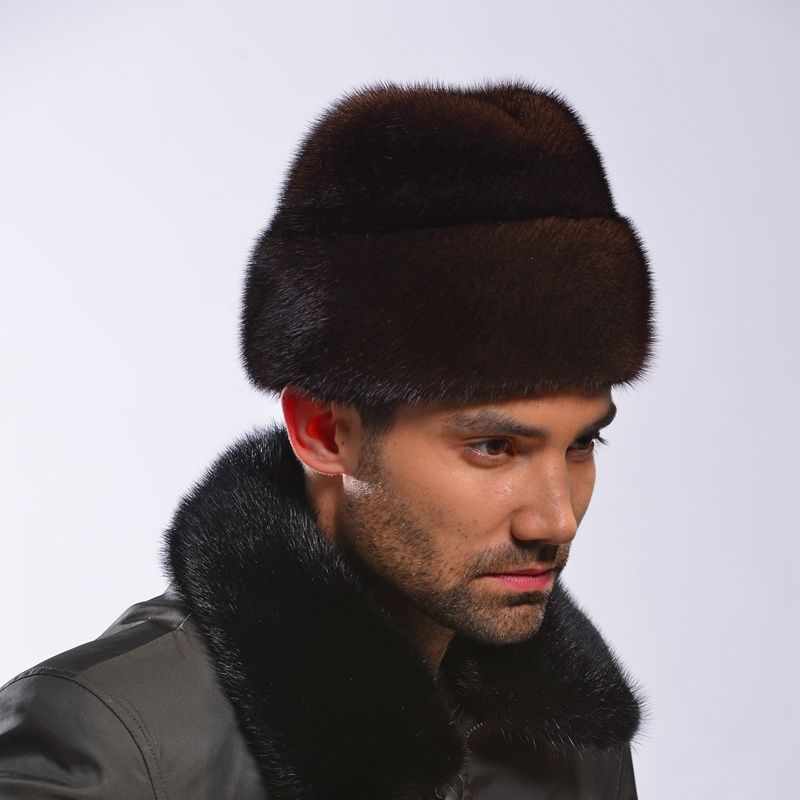 9018f3b6c78 Marten hat winter mink hair president cap fur hat Men winter US  215.88