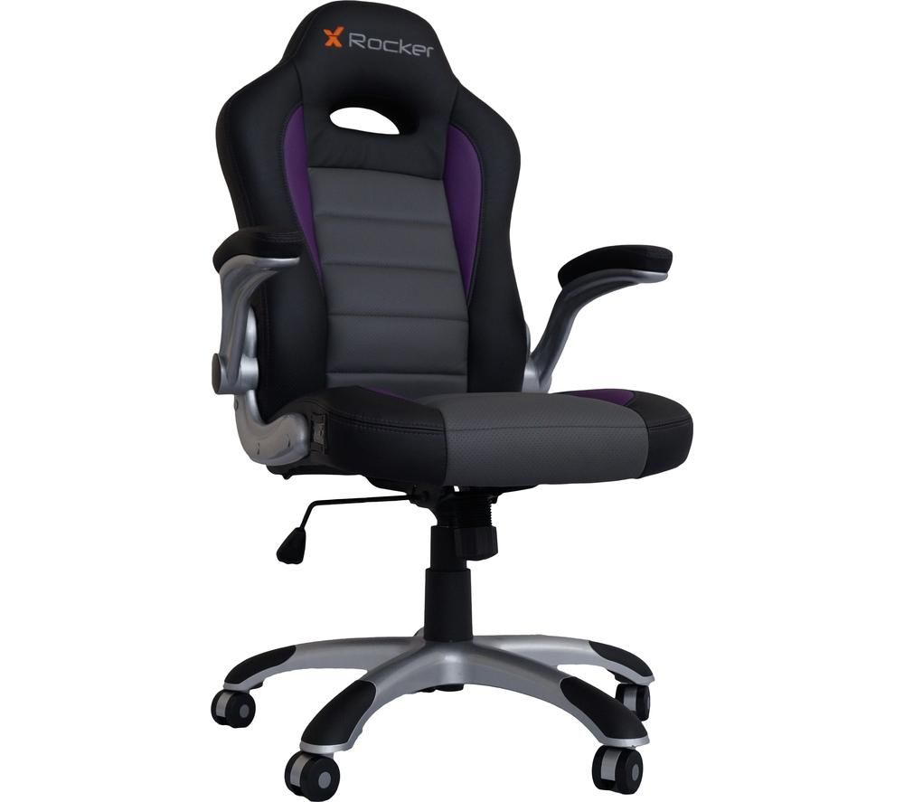 X ROCKER Atlas Wireless Gaming Chair   Black, Grey