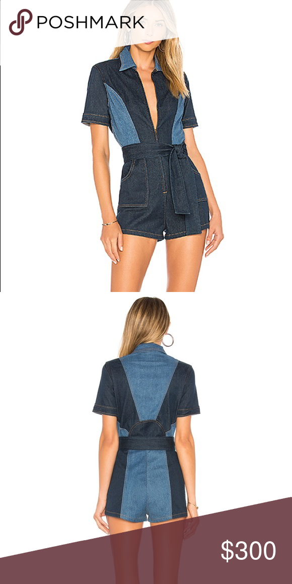 5937ea9b9fef Brand new Stoned Immaculate Blue Jean Baby Romper Super cute stoned  immaculate romper Pants Jumpsuits
