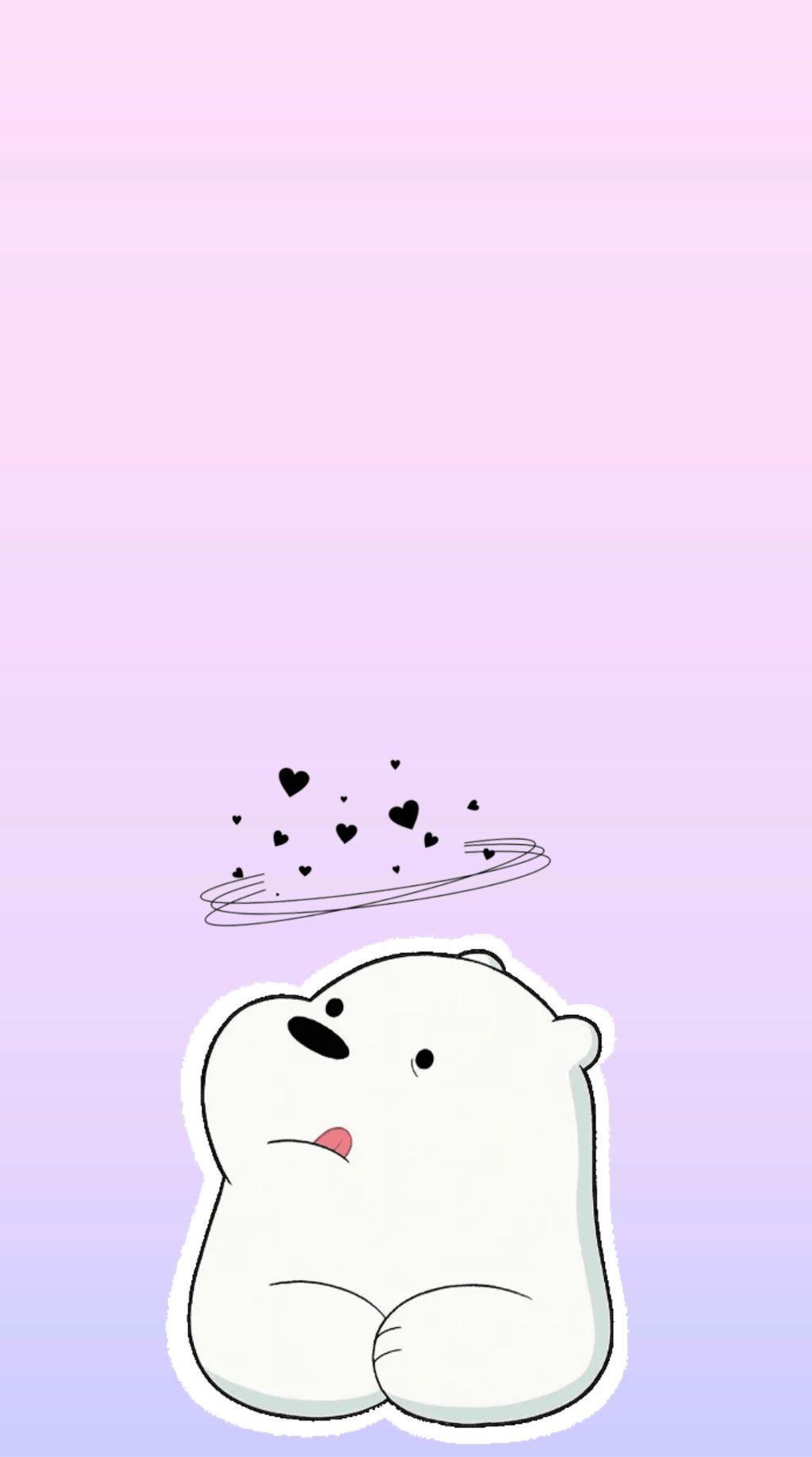 We Bare Bears Ice Bear Iphone Wallpaper Webearbear Bear Wallpaper We Bare Bears Wallpapers Cute Panda Wallpaper