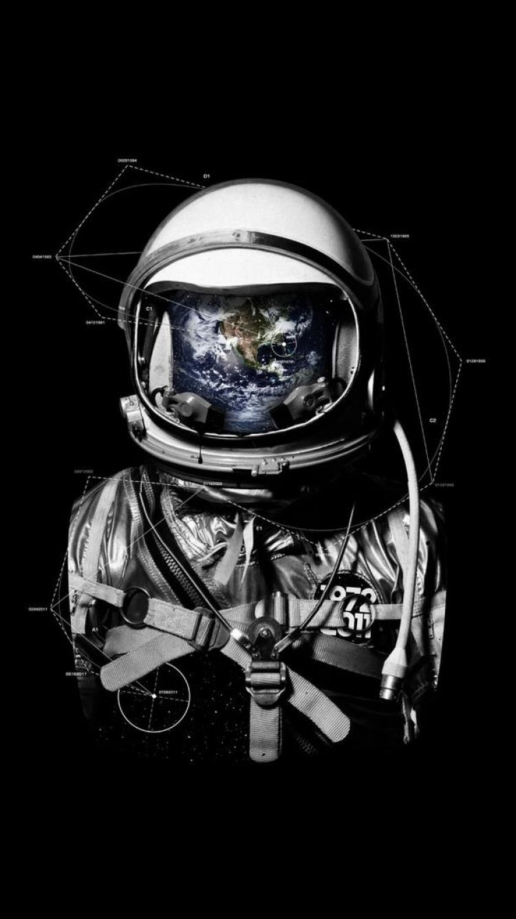 astronaut in space tumblr wallpaper - photo #44