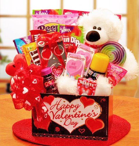 Beary Huggable Valentines Day Gift Basket for Kids – Valentines Day Gifts