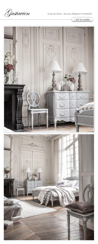 Meuble shabby Gustavien : collection de meubles Louis XV ...