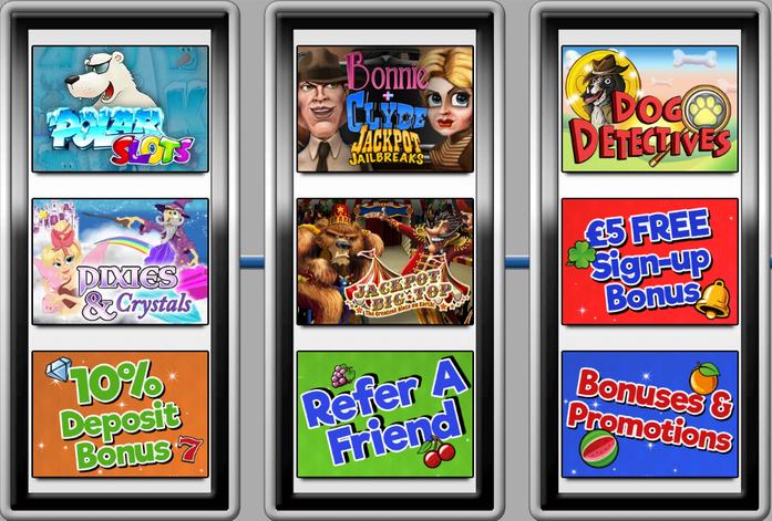 Free Spin Slots Uk