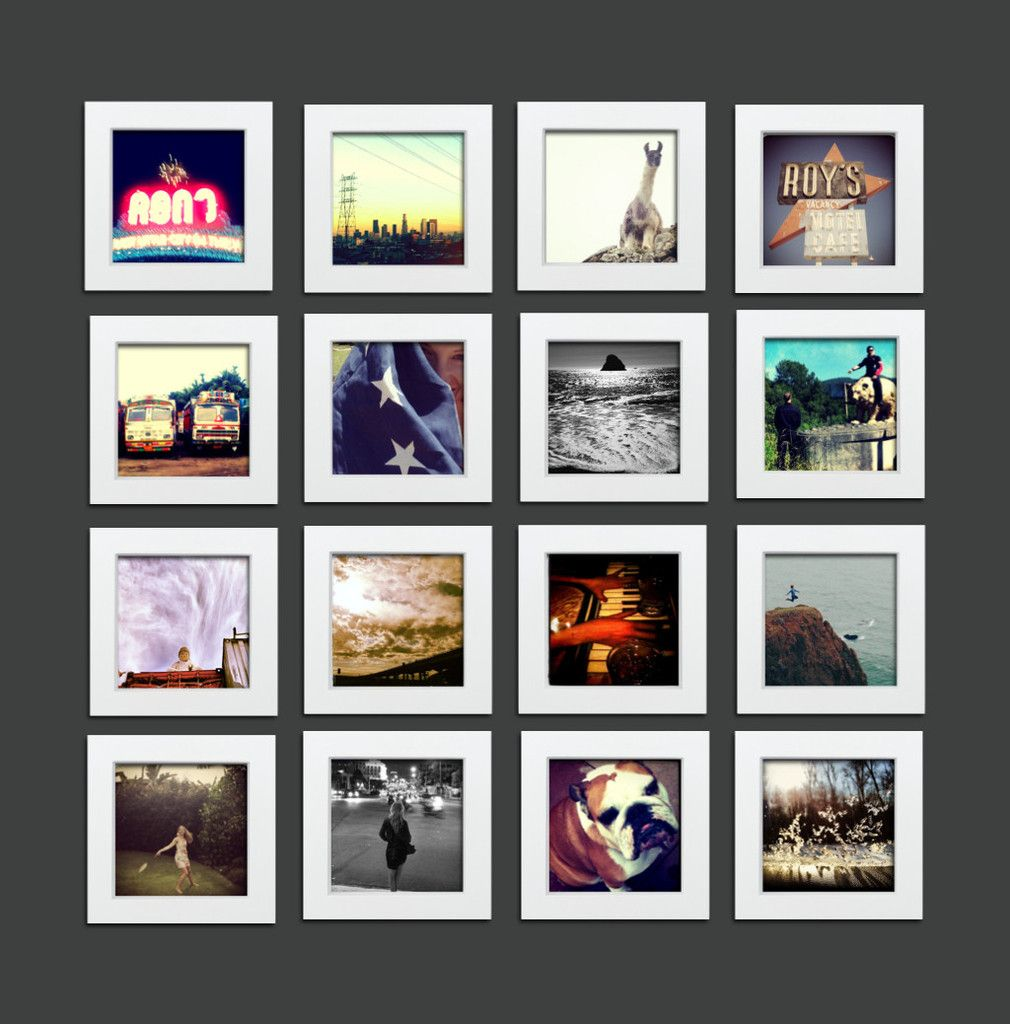 16 pack white 4x4 photo frame 4x4 gallery wall and playrooms 16 pack white 4x4 photo frame tiny mighty frames jeuxipadfo Images
