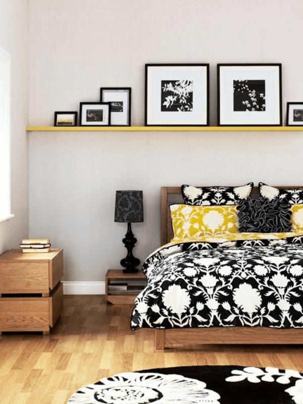 Schlafzimmer deko schwarz weiß Luxurious bedrooms