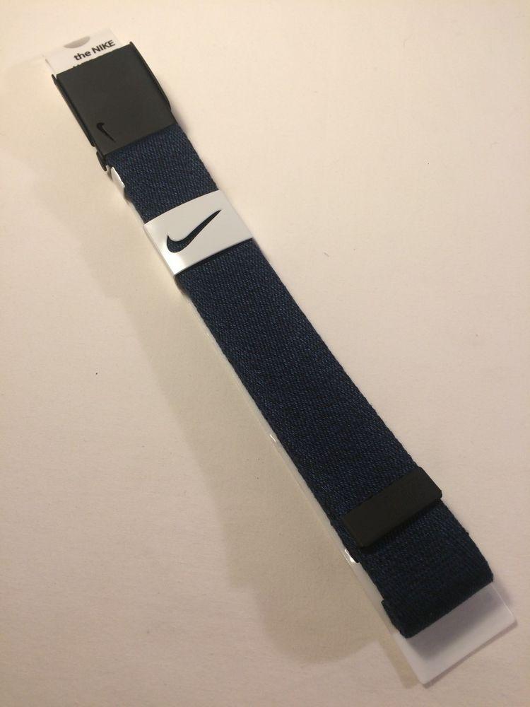 e5ca6b0f6b Nike Golf Web Belt Navy Blue adjustable up to 42