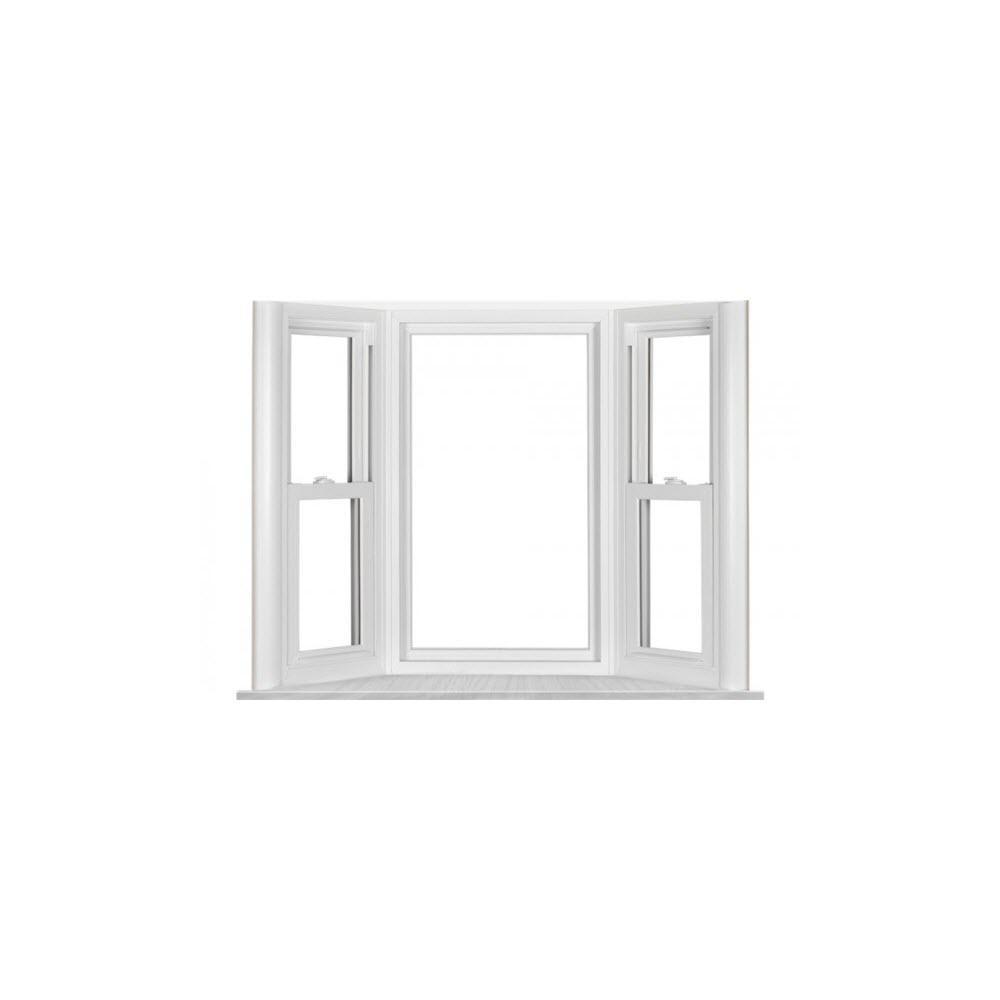 Simonton Installed Vinyl Bay Windows Hsinstsmvvb The Home Depot Bay Window Bow Window Window Vinyl