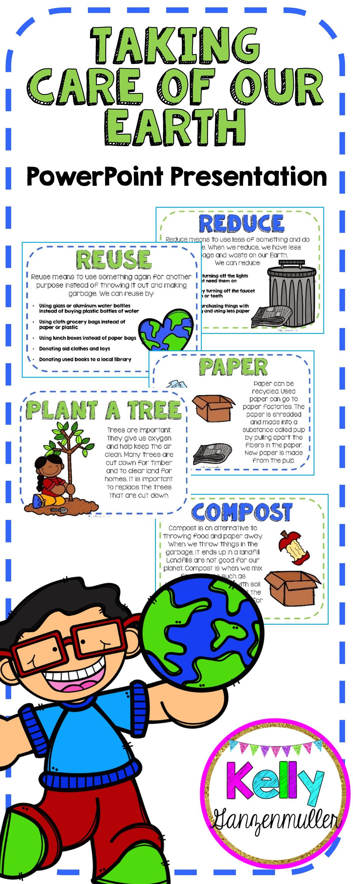 Earth Day Taking Care Of Our Earth Powerpoint