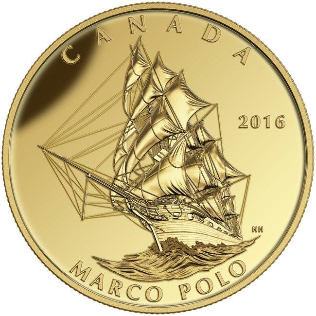 200 Dollar Gold Marco Polo PP