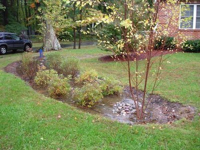 Amazing Rain Garden Design Landscaping Front Yards_14 #landscapingfrontyard