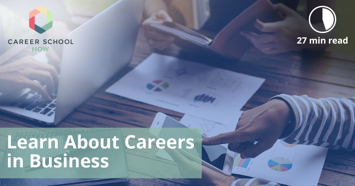 Business, Marketing, & Communication Careers Guide