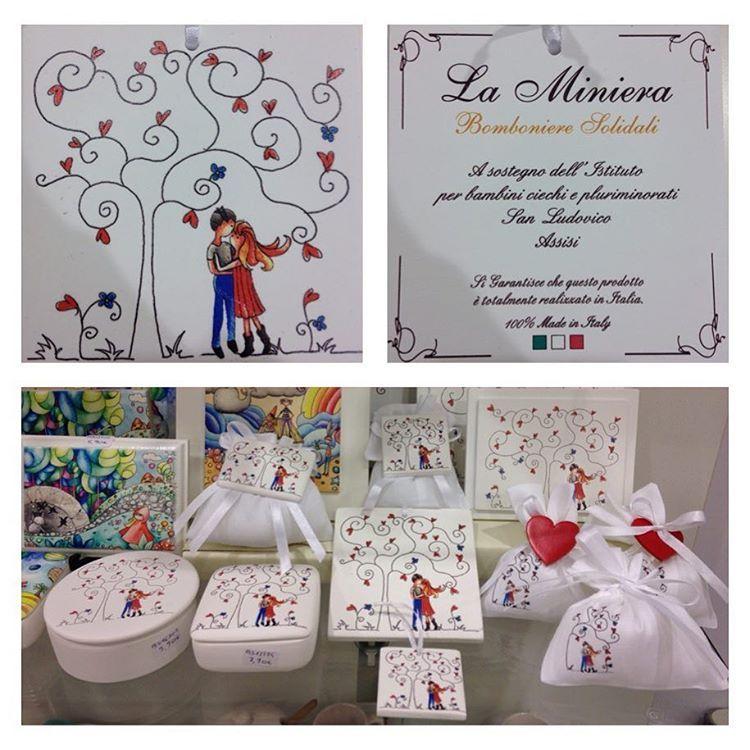 Bomboniere Matrimonio Solidali Bambini.Novita La Miniera Bomboniere Solidali Linea L 39 Albero Dell 39