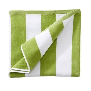 100 Cotton Cabana Stripe Oversize Velour Beach Towel Beach