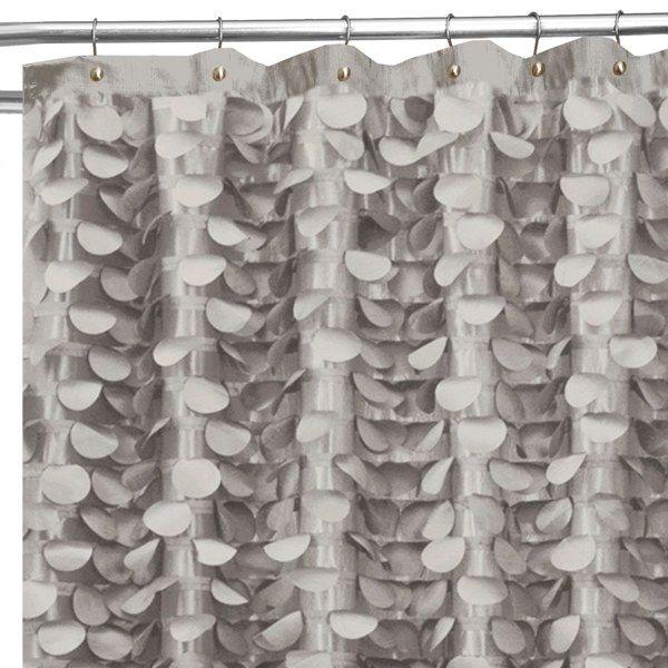Gigi 72 Inch X 72 Inch Shower Curtain Grey Bed Bath Beyond