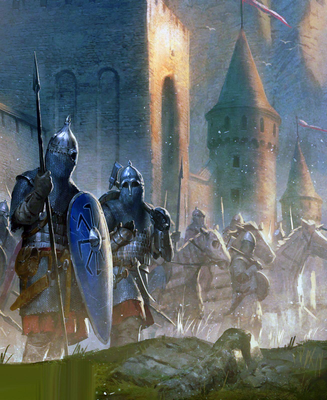 Medieval Russians Fantasy Concept Art War Art Medieval History
