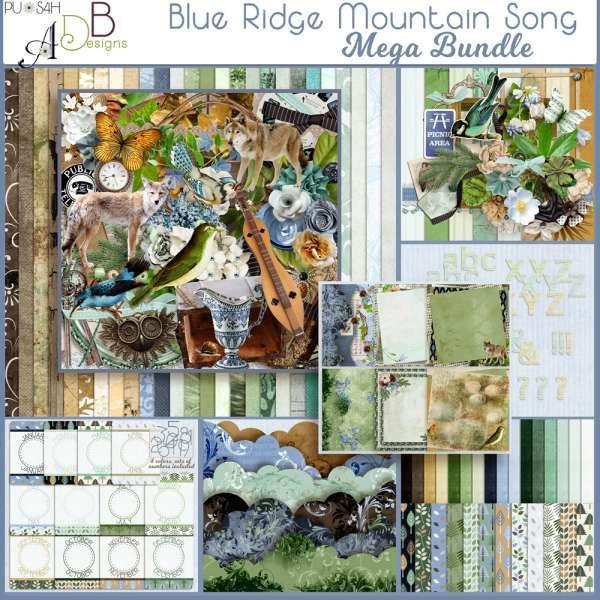Personal Use Bundled Deals Blue Ridge Mountain Song