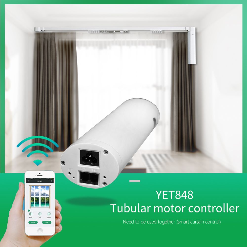 Automatic Curtain Motor Controller Curtains Living Room